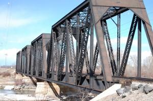 Old Rail Road Bridge near Rigby