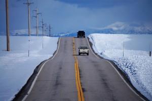 Snowy Scenes along highway 32