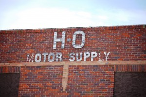 H-O Motor Supply - old advertising