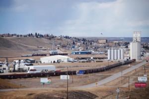 Shelby, Montana -- a train town