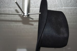 Hat hanger in the Dining Room