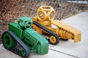Benjamin's creations - a couple of tractors