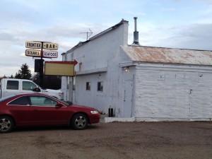 Frontier Restaurant near Shelby, Montana