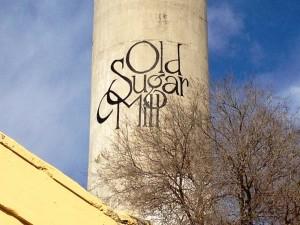 Old Sugar Mill Smokestack