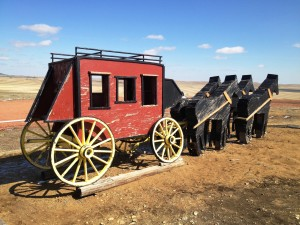 Another view of the Stagecoach