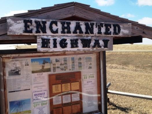 Enchanted Highway Kiosk