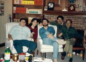 David with Antsy McClain and others in Shelbyville 1992
