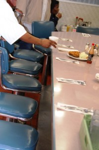 Counter Seating - Diner Style