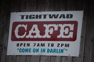 Tightwad Cafe - Tightwad, Missouri