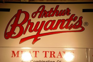 Arthur Bryant's Meat Tray