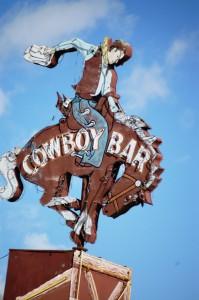 Cowboy Bar Neon