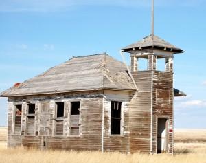 Old Abandoned School