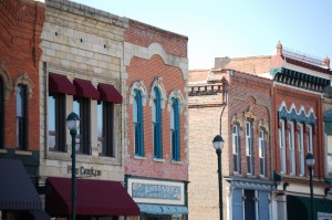 More Winterset building fronts