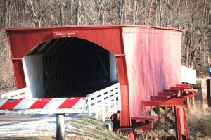 Roseman Covered Bridge in Winterset, Iowa