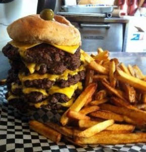Gronk's Enger Tower Burger
