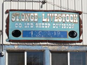 Livestock Sign - Newell, SD