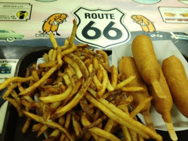 Cozy Dogs and Homemade Fries - Cozy Dog - Springfield, IL