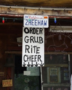 Order Rite Cheer at Hillbilly Hot Dogs in Lesage, WV