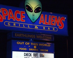 Space Aliens Grill & Bar - Waite Park, MN