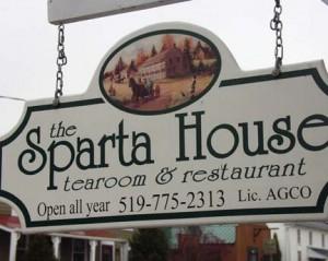 Sparta House Tearoom - Sparta, Ontario