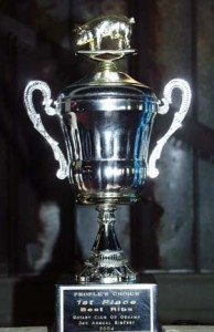 One of a gazillion trophies on display at Camp 31