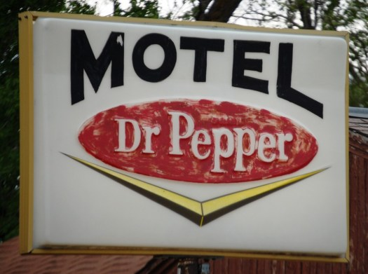 Dr. Pepper Sign in Kadoka, SD