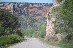 Tensleep Canyon on US 16