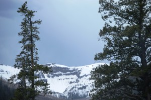 Snowy Mountains in Yellowstone