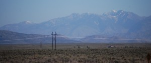 Sawtooth Range n the Distance