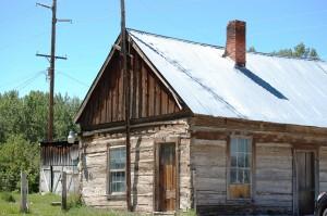 Old Cabin in Downtown Bellevue, ID