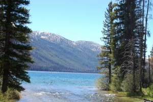 Alturas Lake in the Sawtooth Valley, ID