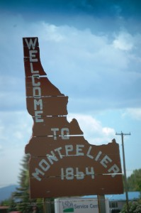 Welcome to Montpelier, Idaho