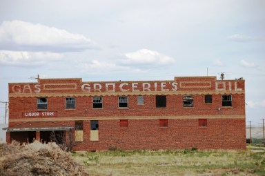 Old Mercantile Building, Opal, WY