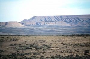 Landscape near Rock Springs, WY