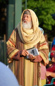 One of the actors who portrays the prophet Lehi, who led his family out of Jerusalem
