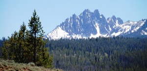Purple Mountain Majesties - Sawtooth range in Central Idaho