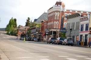 Main street in Leadville, Colorado
