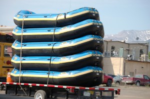 Rafts in Buena Vista