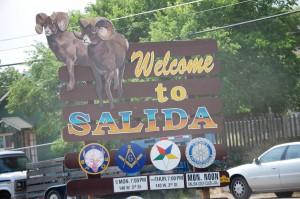 Welcome to Salida, Colorado