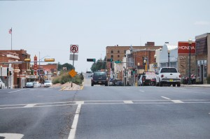 Main Street in Raton, New Mexico