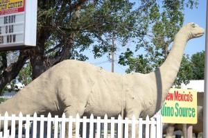Dinosaur Statue - Clayton, NM