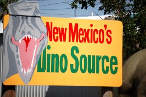 Love the play on words - New Mexico's Dino Source - in Clayton, NM
