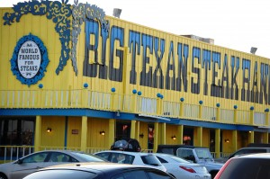 Big Texan store front