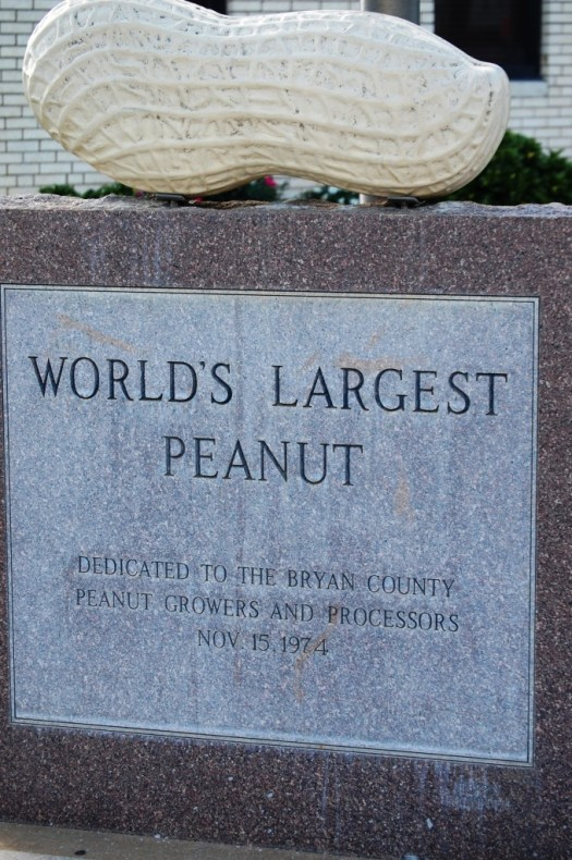 World's Largest Peanut