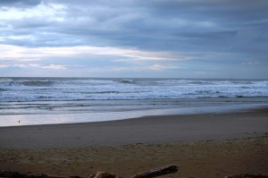Pacific Ocean near Reedsport, Oregon