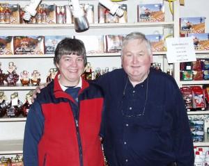 Mary and Bob Jakeman in 2008