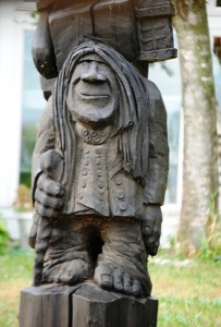 One of dozens of HUGE trolls in Mt. Horeb, Wisconsin