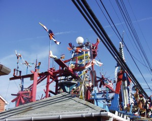 Toys on the Roof at Hamtramck Disneyland - Detroit, MI