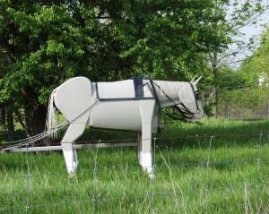 Scrap Metal Horse - Oil Springs, Ontario