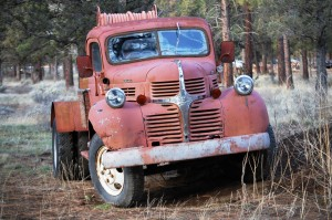 Old truck in Sisters, Oregon